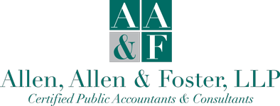 Daphne, AL CPA / Full service tax and business consulting / Allen, Allen & Foster, LLP