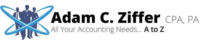 Boca Raton, FL Accounting Firm | Tax Due Dates Page | Adam C. Ziffer, CPA, PA