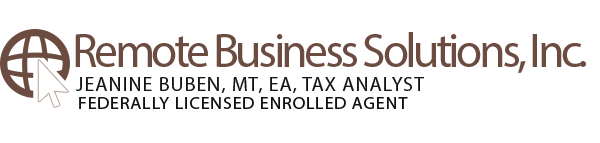 Westminster, CO based virtual business services provider Remote Business Solutions, Inc. | Online Tax Organizer Page | Remote Business Solutions, Inc.