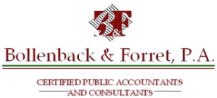Clearwater, FL CPA Firm | Disclaimer Page | Bollenback and Forret PA CPAs