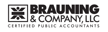 Cincinnati, OH CPA Firm | Privacy Policy Page | Brauning & Company, LLC