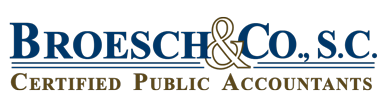 Waukesha, WI Tax, Accounting, and Business Consulting Firm | Home  Page | Broesch & Co., S.C.
