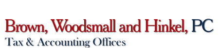 Sullivan, IN Accounting Firm | Tax Services Page | Brown, Woodsmall and Hinkel, PC