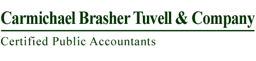 Atlanta, GA Accounting Firm | Tax Rates Page | Carmichael, Brasher, Tuvell & Company