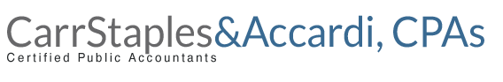 Haverhill, MA Accounting Firm | Home Page | Carr Staples & Accardi