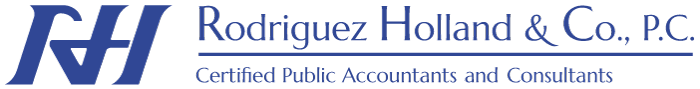 San Antonio, Texas Accounting Firm | Disclaimer Page | Rodriguez Holland & Co., P.C.