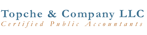 Topche & Company LLC CPA Firm and Business Consultants | Tax Services Page