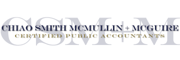 San Rafael, CA Accounting Firm | Disclaimer Page | Chiao Smith McMullin McGuire