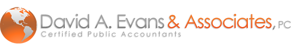 Sugar Land, TX CPA Firm | Site Map Page | David A. Evans & Associates, PC
