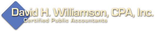 Redding, CA CPA / David H. Williamson, CPA, Inc.