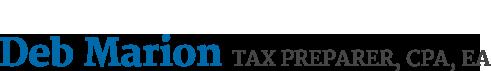 Deb Marion Tax Preparer, CPA, EA