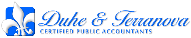 Metairie, LA Accounting Firm | Compilations Page | Duhe & Terranova LLC