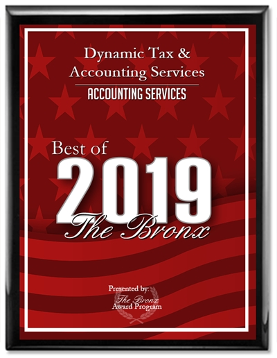 best of 2019 accounting services bronx award