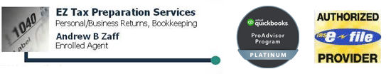 EZ Tax Preparation Services | Newton, MA Tax Preparation & Bookkeeping Firm | Business Strategies Page