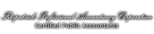 San Luis Obispo, CA Accounting Firm | Investment Strategies Page | Fitzpatrick Professional Accountancy Corporation