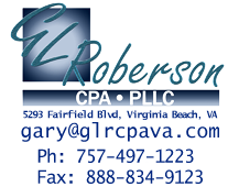 Virginia Beach, VA CPA Firm | Small Business Accounting Page | GL Roberson, CPA, PLLC