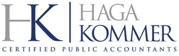 Haga Kommer logo