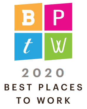 2020 Best Places to Work Banner