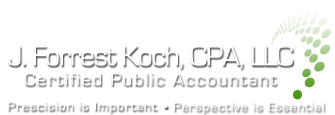Seaside, OR CPA Firm | Home Page | J. Forrest Koch, CPA, LLC