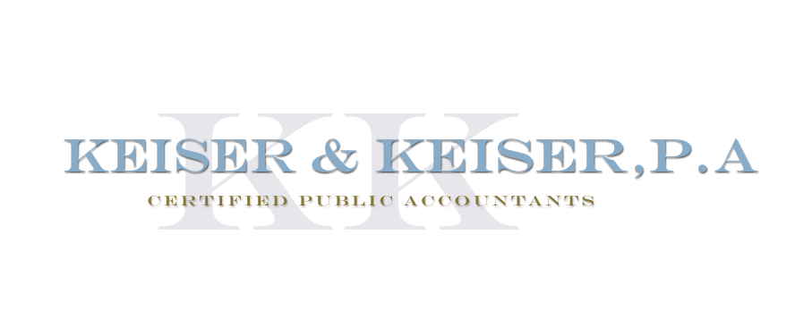 Towson, MD Accounting Firm | Tax Planning Page | Keiser & Keiser, P.A.