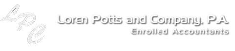 Loren Potts and Company, P.A. Loren Potts and Company, P.A.  Brandon, FL Accounting Firm | Site Map Page | Loren Potts and Company, P.A.