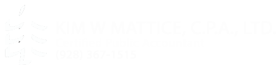 Pinetop, AZ CPA Firm | Tax Strategies for Individuals Page | Kim W. Mattice, CPA, Ltd.