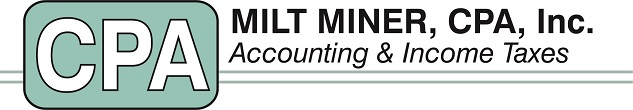 Redlands, CA CPA Firm | Tax Due Date Reminders Page | Milt Miner, CPA