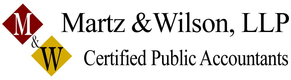 St. Louis, MO Accounting Firm | Tax Center Page | Martz & Wilson, LLP