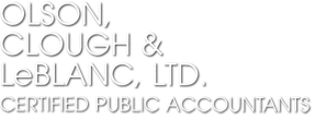 Minneapolis, MN Accounting Firm | Services for Individuals Page | Olson, Clough, and LeBlanc Ltd.