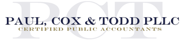 Winston-Salem, NC Accounting Firm | Tax Preparation for Businesses Page | Paul, Cox & Todd PLLC