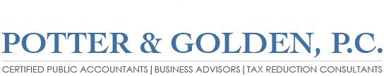 Houston, TX Accounting Firm | Tax Preparation Page | Potter & Golden, P.C.
