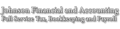 Johnson Financial, Accounting Services And Tax