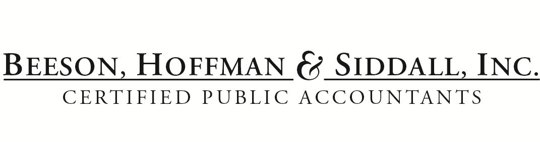 Glendale, CA Accounting Firm | Previous Newsletters Page | Beeson, Hoffman & Siddall, Inc.