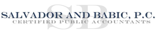 Barre, VT Accounting Firm | Client Portal Page | Salvador and Babic PC