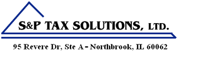 Northbrook, IL Tax and Accounting Firm | Tax Center Page | S&P Tax Solutions, LTD.