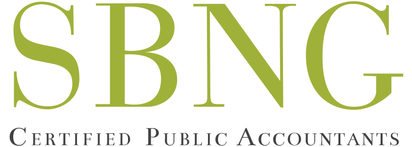 SBNG Certified Public Accountants | EL PASO, TX Accounting Firm | Tax Center Page