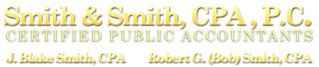 Cary, NC CPA Firm | Footer Pages Page | Smith & Smith, CPA, P.C.