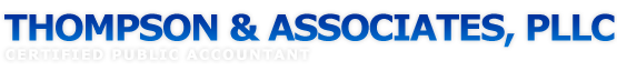 Conway, AR Accounting Firm | Personal Financial Planning Page | Thompson & Associates, PLLC