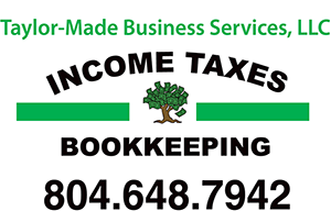 Henrico, VA Accounting Firm | Tax Center Page | Taylor-Made Business Services,LLC