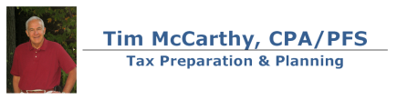 Avon, CT CPA Firm | IRS Tax Forms and Publications Page | Tim McCarthy CPA/PFS