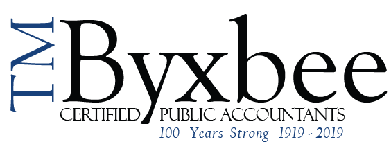 Albany, NY Accounting Firm | Previous Newsletters Page | T.M. Byxbee