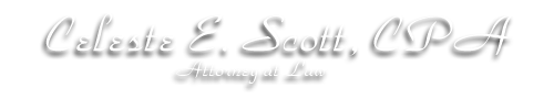 Harwich, MA CPA Firm | Tax Center Page | Celeste E Scott CPA Attorney at Law