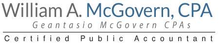 Manasquan, NJ CPA Firm | Guides Page | William A. McGovern, CPA